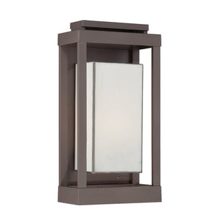 Trevot 1 Light Led Graphite Outdoor Wall Sconce 16092256