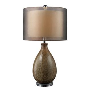 Uttermost Sitka 1 Light Aged Black Lantern Floor Lamp