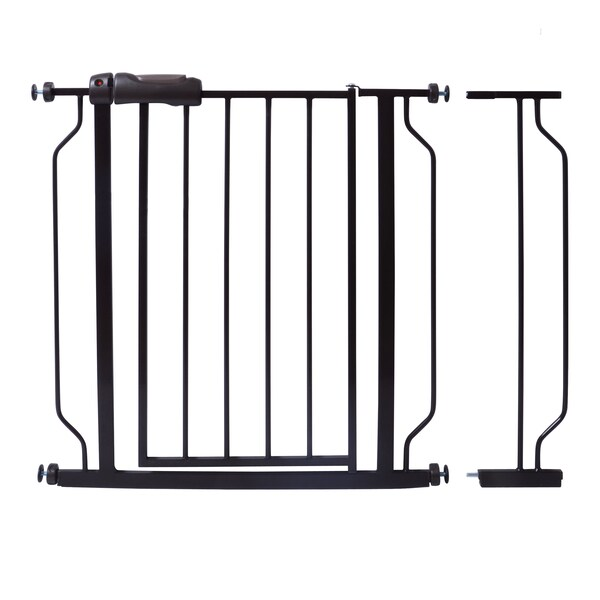 North States White Metal Autoclose Gate 1bar Extension