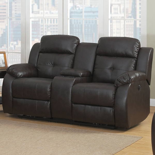 Troy Power Reclining Loveseat 15767478 Overstock Com