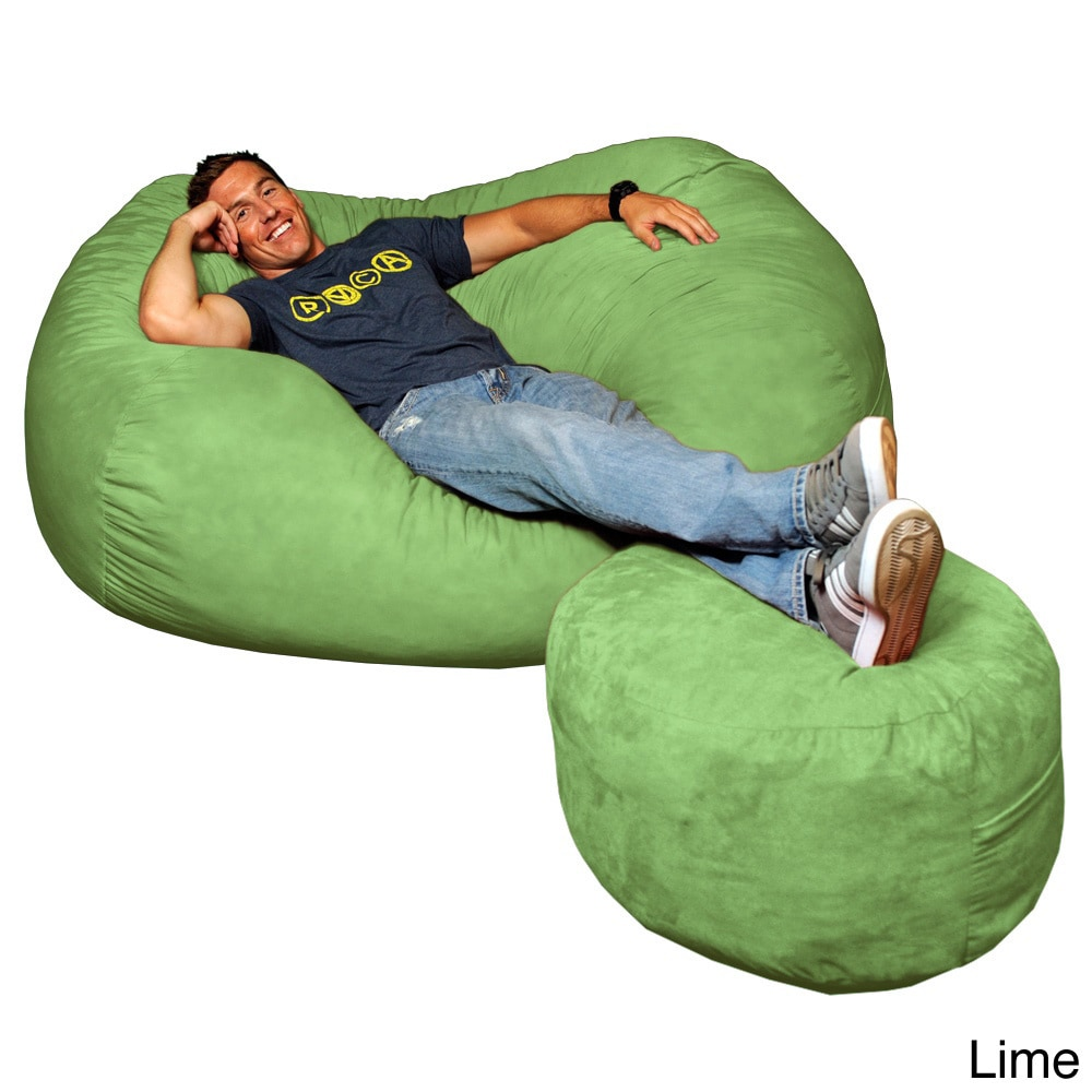 Theater Sacks Llc Theater Sack 6 Foot Bean Bag Couch In Plush
