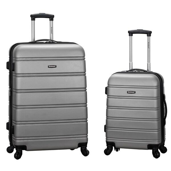 Rockland melbourne 2 piece expandable hardside spinner luggage set 2910cb5f 6649 4c7e ae6e 7fcc28826157 600