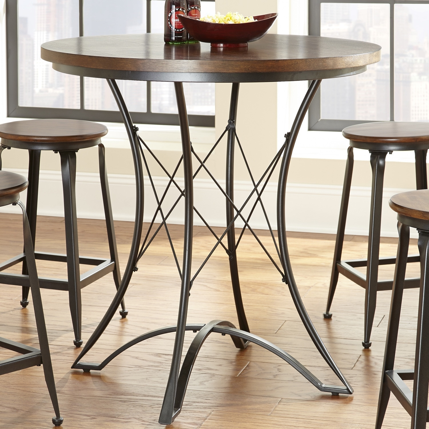 Overstock Bar Table: Counter Height Pub Table