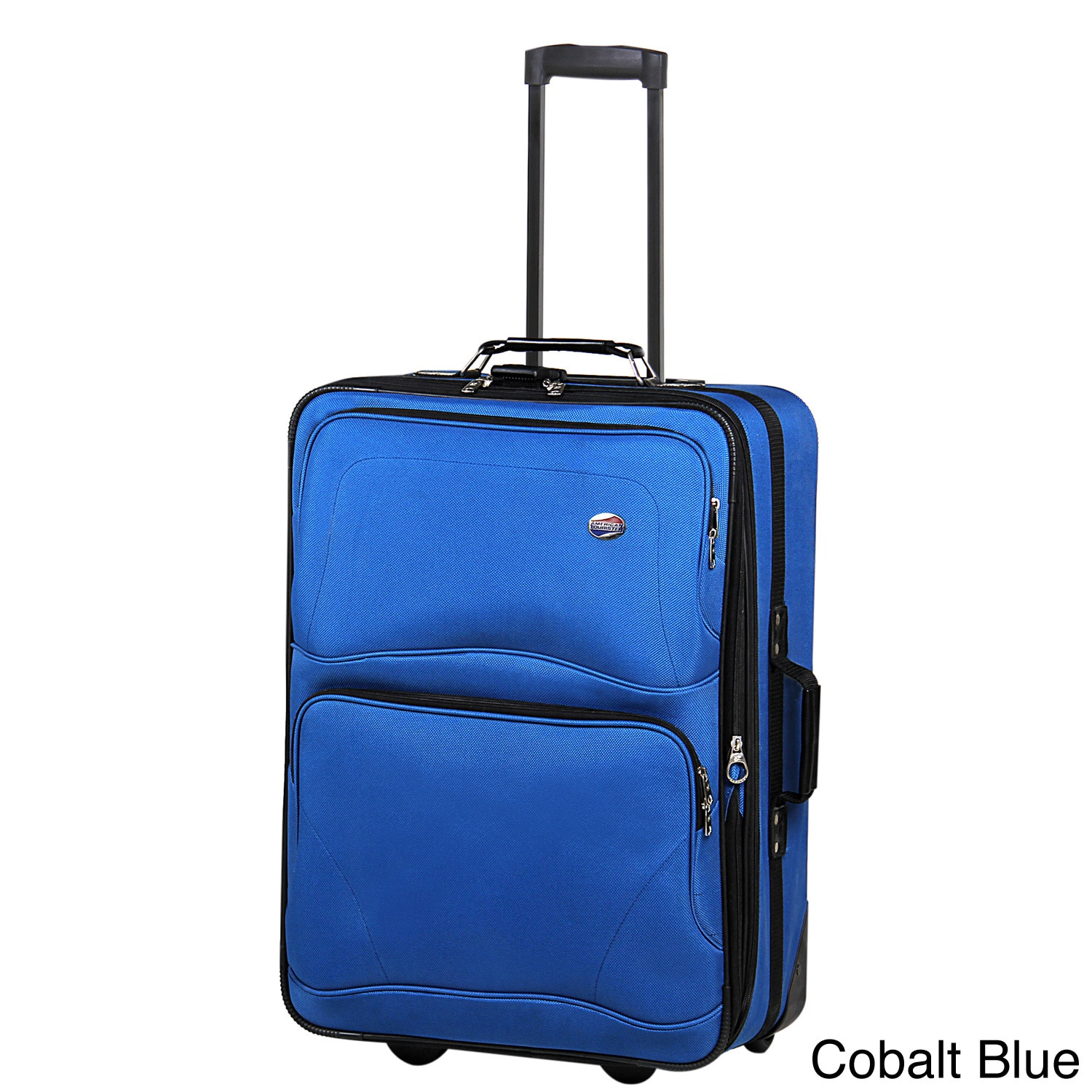 f6c469e2cde American Tourister Baltic Collection Expandable 25 inch Medium Rolling  Upright Suitcase
