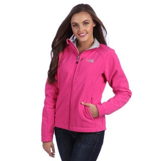 The North Face Women S Passion Pink Apex Bionic Jacket
