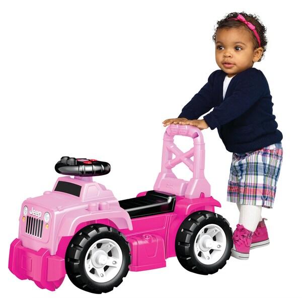 Mega Bloks Pink Jeep Ride On