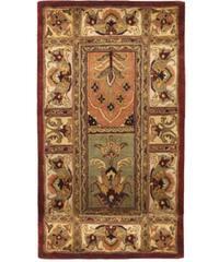 Safavieh Handmade Classic Bakhtieri Multicolored Wool Rug - 2'3 x 4'