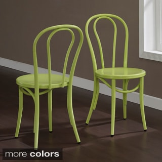 Cafe Metal Side Chair Set Of 2