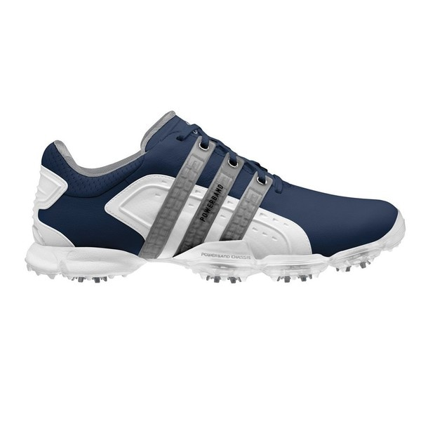buy online 51573 22421 Adidas Mens Limited Edition Powerband 4.0 Navy White Golf Shoes