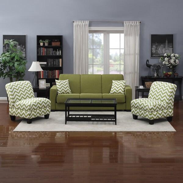 Amazing Price Portfolio Mali Convert A Couch Apple Green Linen Futon Pabps2019 Chair Design Images Pabps2019Com
