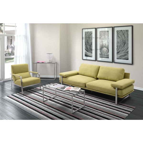 Tribecca Home Uptown Modern Sofa On Popscreen