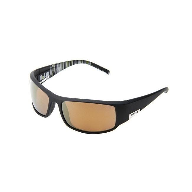 ebccd4d8970f1 Bolle Sport King Sunglasses Matte Black gold 11687 on PopScreen