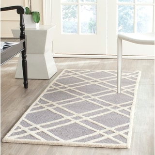 Safavieh Handmade Cambridge Moroccan Silver Wool Area Rug