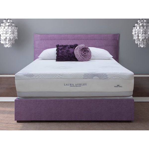 Laura Ashley Blossom Plush Queen Size Mattress And Foundation Set 15824627 Overstock Com