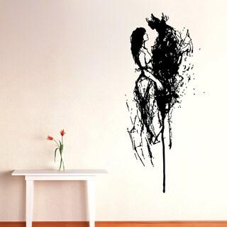 Romantic Romantic Vinyl Wall Art Overstock Shopping