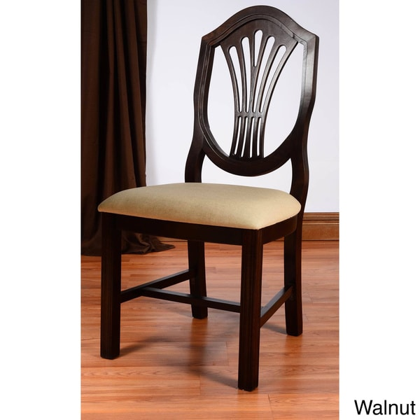 Shield Back Dining Room Chairs: Shield Back Beech Wood Dining Chair