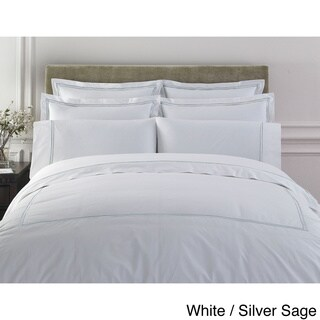 Egyptian Cotton Collection Double Line Embroidered Duvet