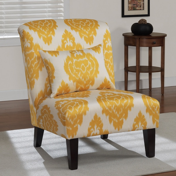 Golden Yellow Accent Chair Living Room: Share: Email