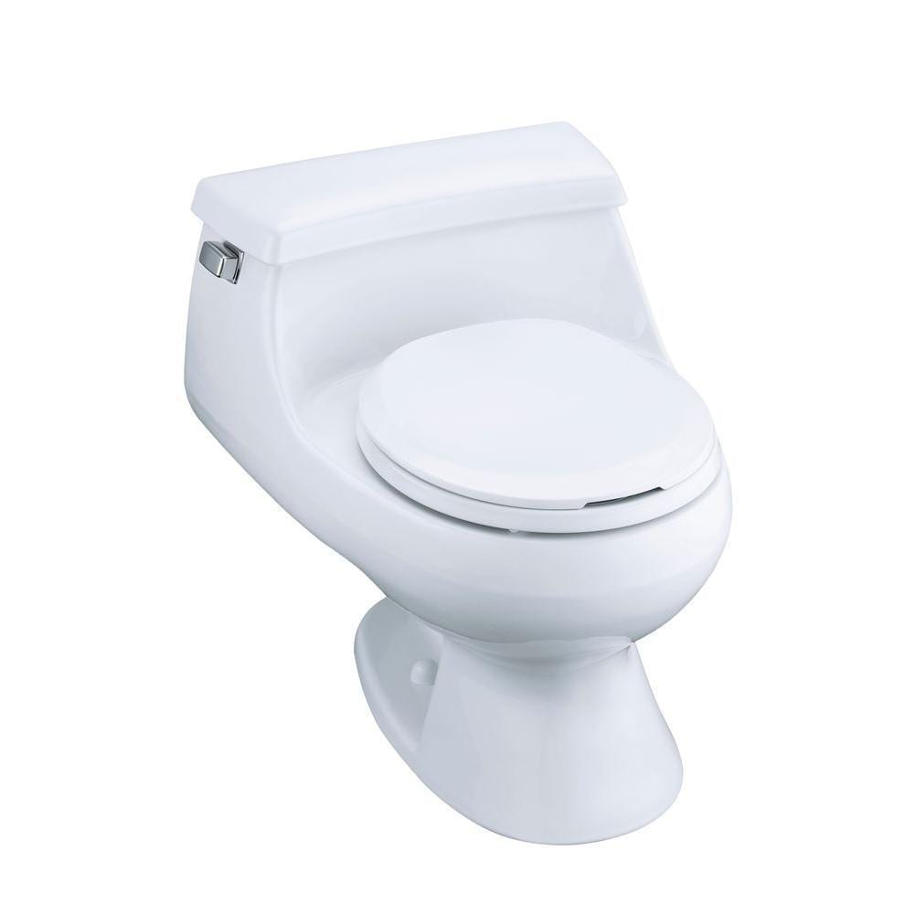 Astonishing Kohler Rialto Biscuit 1 Piece 1 6 Gpf Round Front Toilet Bralicious Painted Fabric Chair Ideas Braliciousco