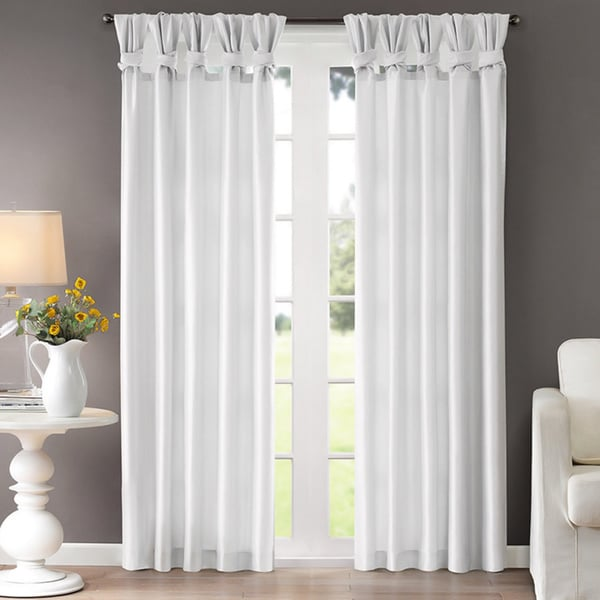 Madison Park Natalie Twisted Tab Curtain Panel 15855802