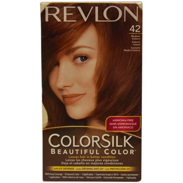 Revlon Colorsilk Beautiful Color 42 Medium Auburn Hair
