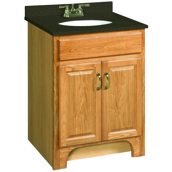 New Doors For Bathroom Vanity: Design House 530386 Richland Nutmeg Oak Vanity Cabinet