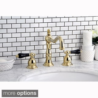 Lava Polished Brass Widespread Bathroom Faucet 13431511