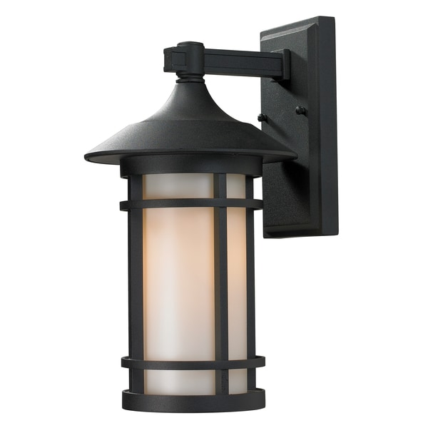 Z Lite Mission Style Outdoor Wall Light 15879098