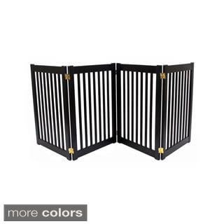 Kensington 20 Inch Wood Wire Free Standing Gate