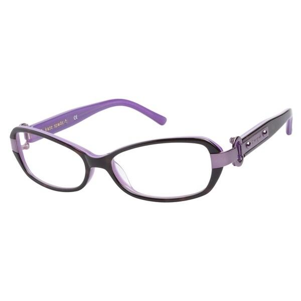 aced9713e3 Kate Spade Readers Women s Deeann Rectangular Reading Glasses - kate ...