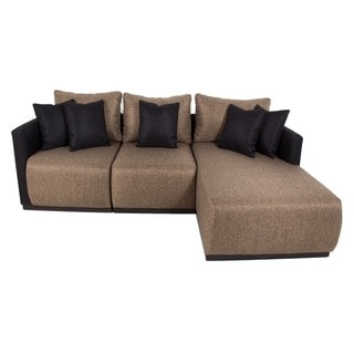 Black Sectional Sofas Overstock Shopping Stylish