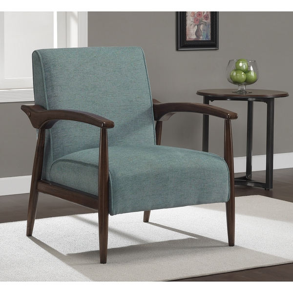Gracie Aqua Retro Arm Chair