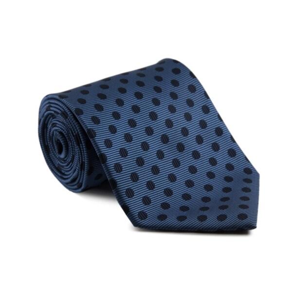Platinum ties mens navy dot necktie ceda08ab 7749 4770 a784 41f7fdb11798 600