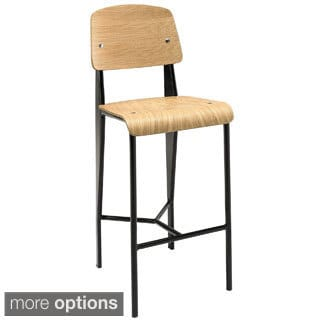 Brown Faux Leather Counter Stools Set Of 2 18722797