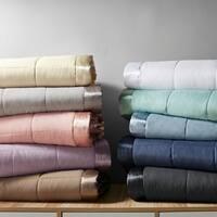 Madison Park Prospect Microfiber All Season Hypoallergenic Down Alternative Blanket with 3M Scotchgard