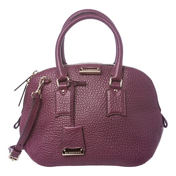 6fc40ec84215 Burberry Heritage Small Orchard Grained Leather Satchel 15916602 on ...
