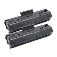 HP C4092A (HP 92A) Remanufactured Compatible Black Toner Cartridge (Pack of 2)