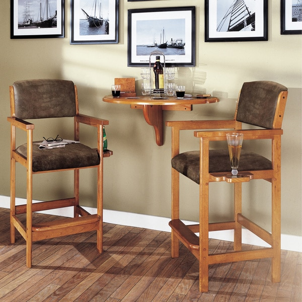 Tobacco Spectator Chairs Set Of 2 15922183 Overstock