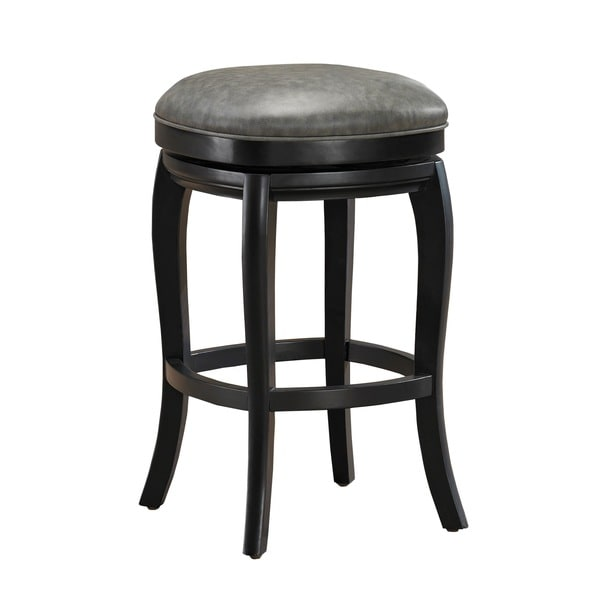 Marion Counter Height Stool In Black And Grey 15925009
