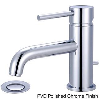 Satin Nickel Single Lever Handle Bathroom Faucet