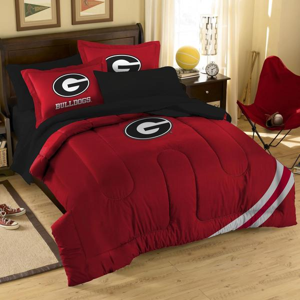 80 Best Images About Room In A Box On Pinterest: Georgia Bulldogs 10-piece Dorm Room In A Box