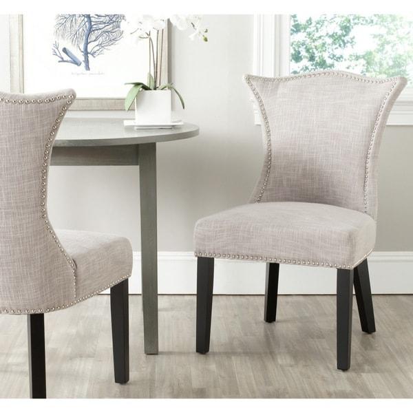 Safavieh En Vogue Dining Ciara Grey Side Chairs Set Of 2