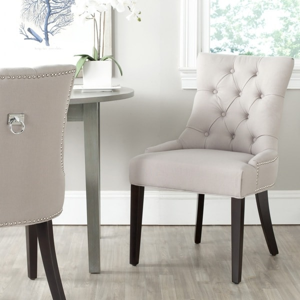 Salle A Manger Gris Taupe: Safavieh Harlow Taupe Ring Chair (Set Of 2)