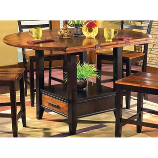 Check Price Acacia 42 Inch Counter Height Drop Leaf Storage Table Table020209