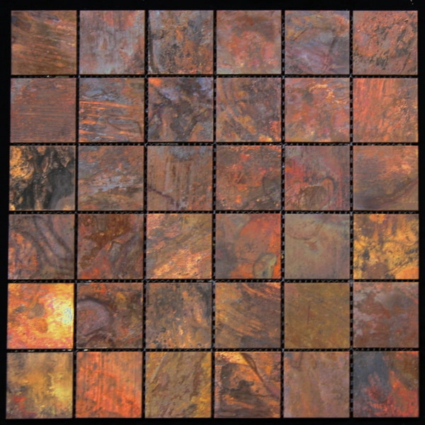 Legion Furniture Copper Wall Tiles 15940227 Overstock