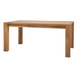 Natural Finish 65 Inch Dining Table