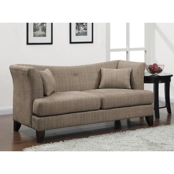 Modern Curved Sofas: Modern Twine Curved-arm Sofa