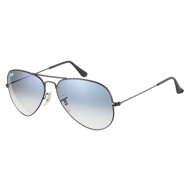 505c84bbaf3 Ray ban Rb3025 002 3f Aviator Black Blue Gradient 58 Sunglasses on ...