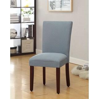 Aqua Pool Textured Parson Dining Chair Deals Table050209