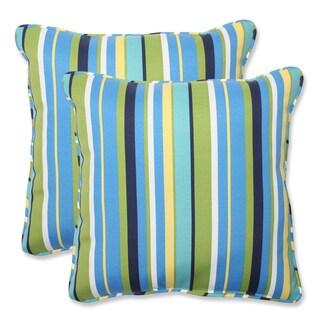 Pillow Perfect Splish Splash Outdoor Square Throw